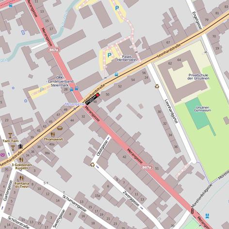 Map Leonhardstrasse 48 - AFT - Art & Fashion TeamAFT – Art & Fashion ...