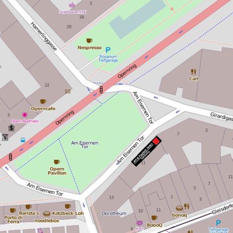 Map Opernring9 - AFT - Art & Fashion TeamAFT – Art & Fashion Team